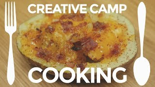 Creative Camp Cooking: Stuffed Potato | Backpacking Trail Meals