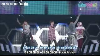 Start - SHINee ( live) [ Vietsub by 2C] Engsub + Roman