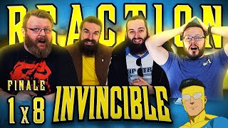 """Invincible 1x8 REACTION!! """"Where I Really Come From"""""""