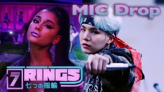 7 RINGS x MIC DROP - Ariana Grande & BTS (Mixed Mashup)