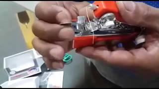 How to Operate AMI Mini Hand Sewing Machine