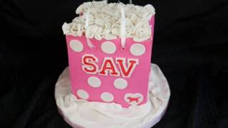 PINK Shopping Bag Cake