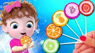 Rainbow Song With Fruits Lollipop - Baby Nursery Rhymes & Kids Songs | Cartoon For Children