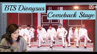 BTS 방탄소년단 'Dionysus' Comeback Special Stage MCOUNTDOWN Reaction