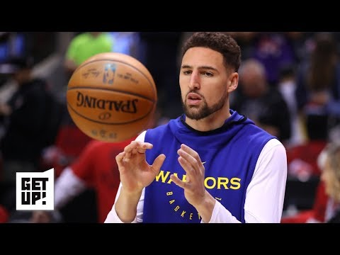 The Warriors are optimistic Klay Thompson will play in Game 3 – Woj | Get Up!