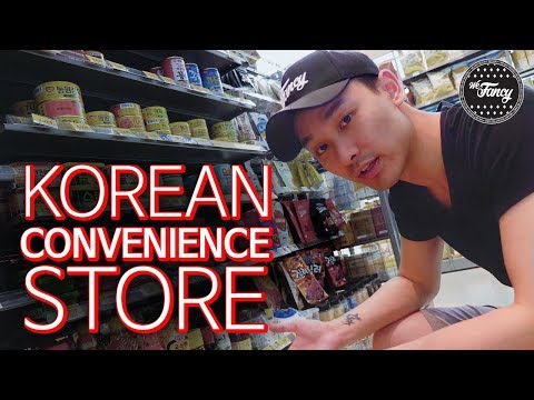 Korean Convenience Store Tour : emart24