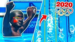 A NEW SWIMMING RECORD?! TOKYO OLYMPICS 2020