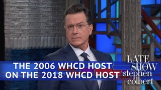 Stephen Colbert (The Other One) On Michelle Wolf's WHCD Speech