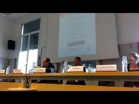 Cino Benelli al convegno dell'Università Spisa di Bologna sul gioco