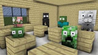 Monster School : BALDI, SADAKO, SLENDRINA, FNAF & GRANNY (Part 8) - Minecraft Animation
