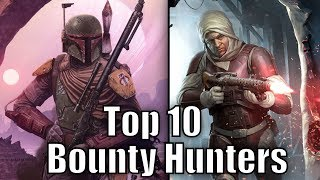 Top 10 Bounty Hunters (Results) - Star Wars Top Tens