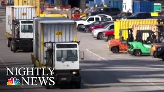 China Hits Back At President Trump, Adds Tariffs To $60B Of U.S.-Made Products | NBC Nightly News