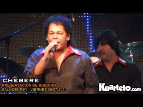 Chebere y Pablo Brizuela en Sala del Rey