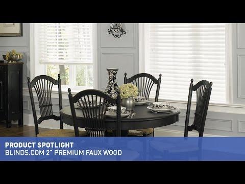 """Blinds.com 2"""" Premium Faux Wood Blinds"""