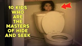 10 Kids Who Are The Masters Of Hide And Seek