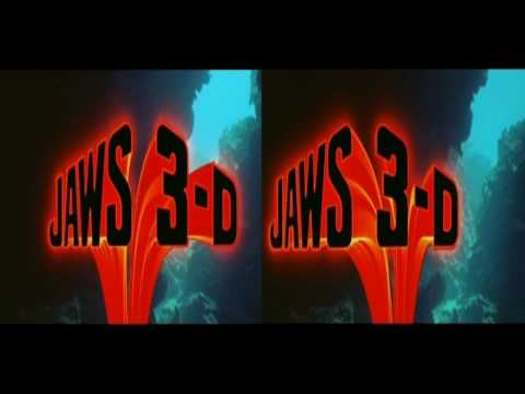Jaws 3 clips in TRUE 3D!