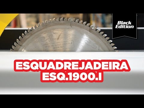 Esquadrejadeira Black Edition 1900Mm Maksiwa – 127 / 220V - Vídeo explicativo