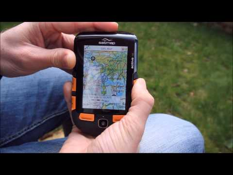 Satmap Systems Ltd - How to view the map on the Active 10 or Active 12 GPS device