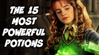 The 15 Most POWERFUL Potions in Harry Potter (RANKED) - Harry Potter Theory