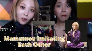 Mamamoo Imitating Each Other (plus Hyejin's Gazelle)