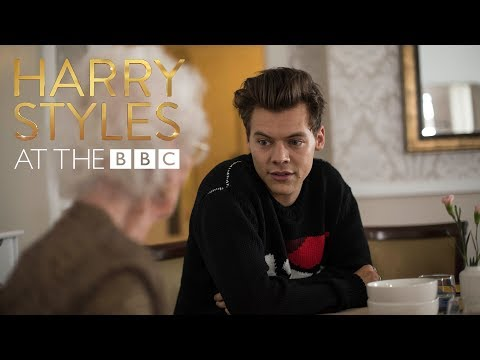 Bingo! Harry Styles is the greatest bingo caller ever! (At The BBC)