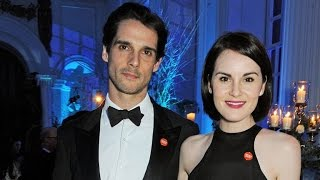 'Downton Abbey' Star Michelle Dockery Gives Emotional Eulogy at Late Fiance's Funeral