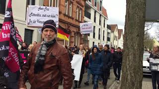 Demonstration Kandel, 28 1 2018, Frauenbündnis