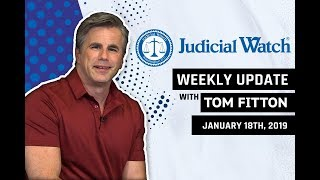 Tom Fitton: New Anti-Trump RussiaGate Scandal,