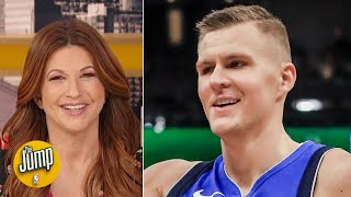 With Luka Doncic out, the 'Unicorn' Kristaps Porzingis came back - Rachel Nichols | The Jump
