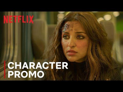 Parineeti Chopra as Mira Kapoor- The Girl on the Train- Aditi Rao Hydari- Release promo