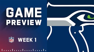 Seattle Seahawks vs. Indianapolis Colts | Week 1 NFL Game Preview