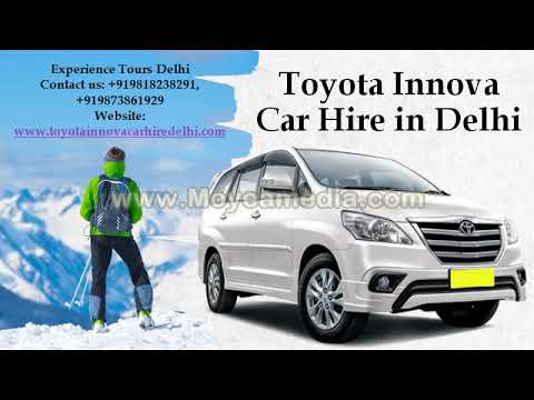 Book Innova for outstation | 7 seater cabs in Delhi - Taxi on Rent (Toyota Innova)