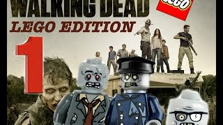 The Walking Dead Lego stopmotion, season 1 ep 1 - 1