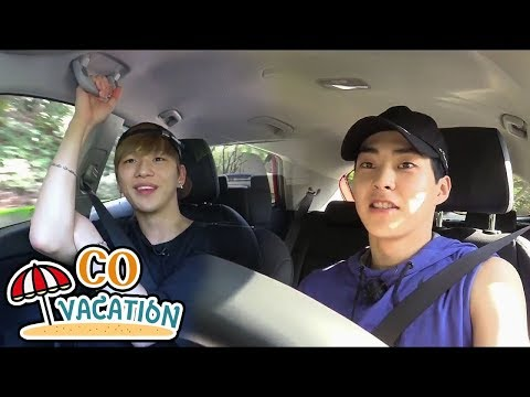 [Co-Vacation: Xiumin & Daniel] They Go To The Mart For Dinner, 20170910