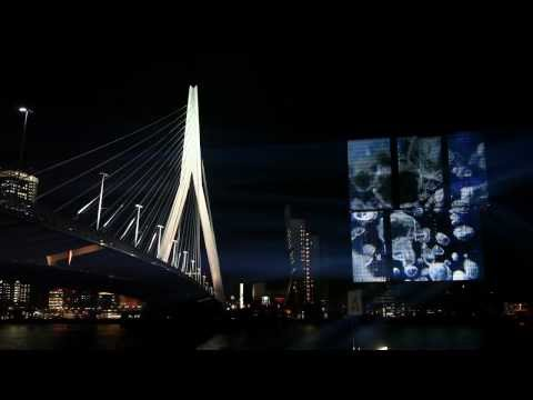 Projectie A15 op De Rotterdam