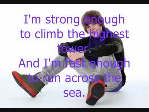 Justin Bieber ft Jaden Smith Never say never Lyrics
