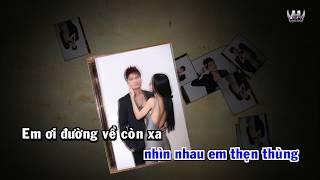 [Karaoke] Chim Sáo Ngày Xưa Remix - Lương Gia Huy