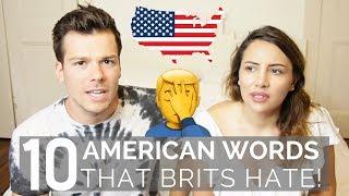 🇺🇸 American Words that British People HATE! 🇬🇧