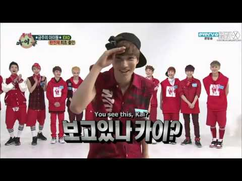 (ENG SUB) EXO Superpowers!!