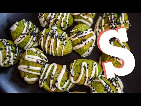 Green Tea Madeleine Cakes