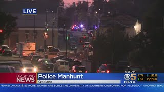 Police Launch Early Morning Suspect Search In Oakland Neighborhood