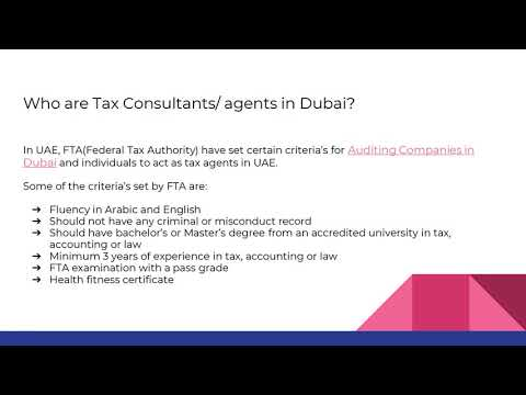 9 Reasons to Hire a Tax Consultant in Dubai