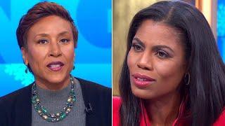Omarosa Responds to Robin Roberts' 'Bye Felicia' Remark
