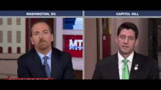 Chuck Todd Catches Paul Ryan In 2 Massive Health Care Lies