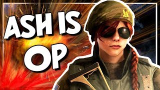 The EASIEST Operator in Rainbow Six Siege is Ash