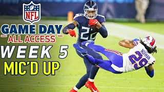 "NFL Week 5 Mic'd Up! ""You threw him into the suites! "" 
