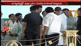 Rahul Gandhi pats Jagga Reddy on success of Praja Garjana..