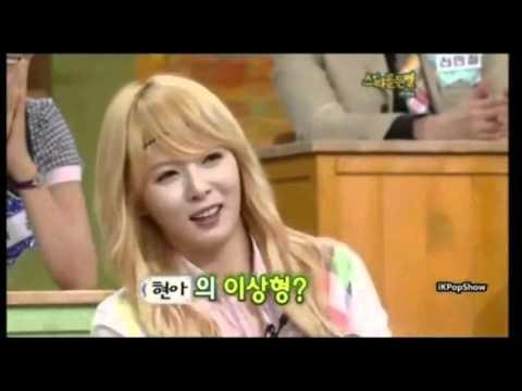 I Need A HyunA - Kim HyunA(Cute,Funny) - { TaeYang