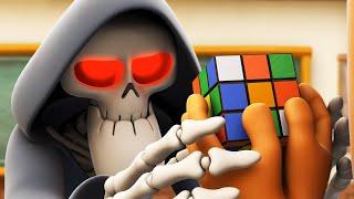Spookiz | Risolvi il puzzle - Cubo di Rubik | Cartoni animati per bambini | WildBrain