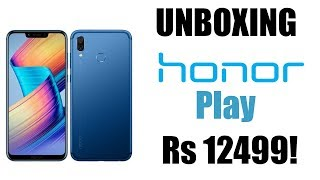 UNBOXING THE BEST PHONE UNDER Rs 15000||UNBOXING HONOR PLAY 4+64||